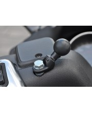 "RAM Motorcycle Base with 9mm Hole and 1"" Ball"